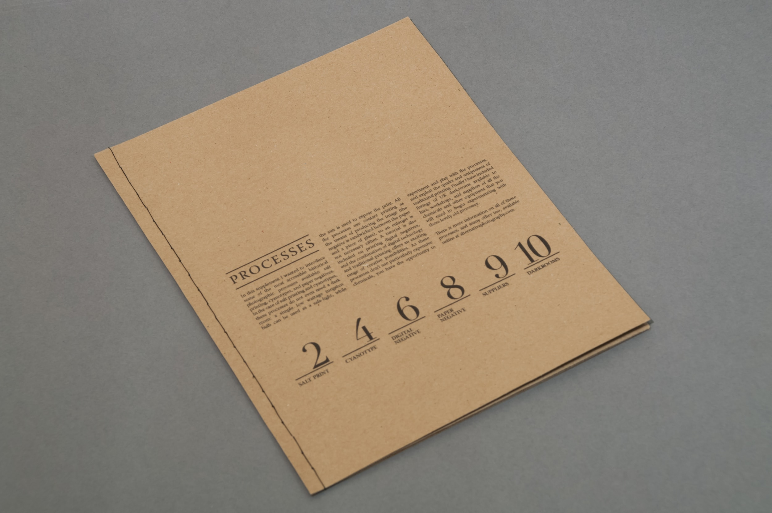 Print Design Notebook