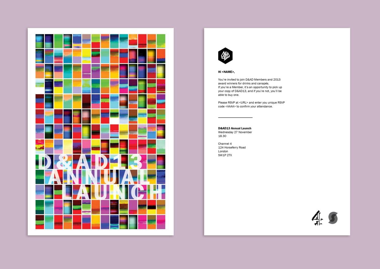 Annual Launch Invitation Design