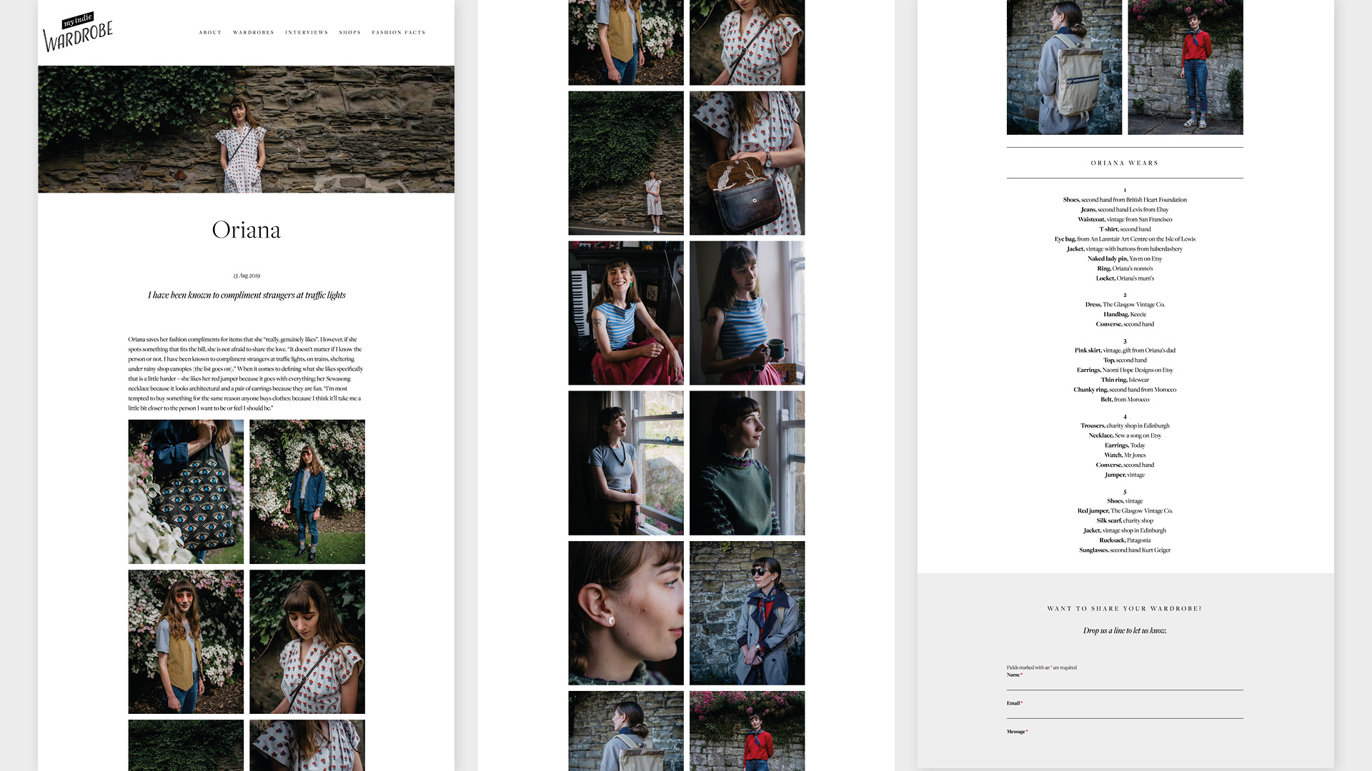 My Indie Wardrobe Website